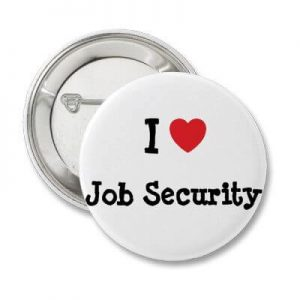why is job security over rated