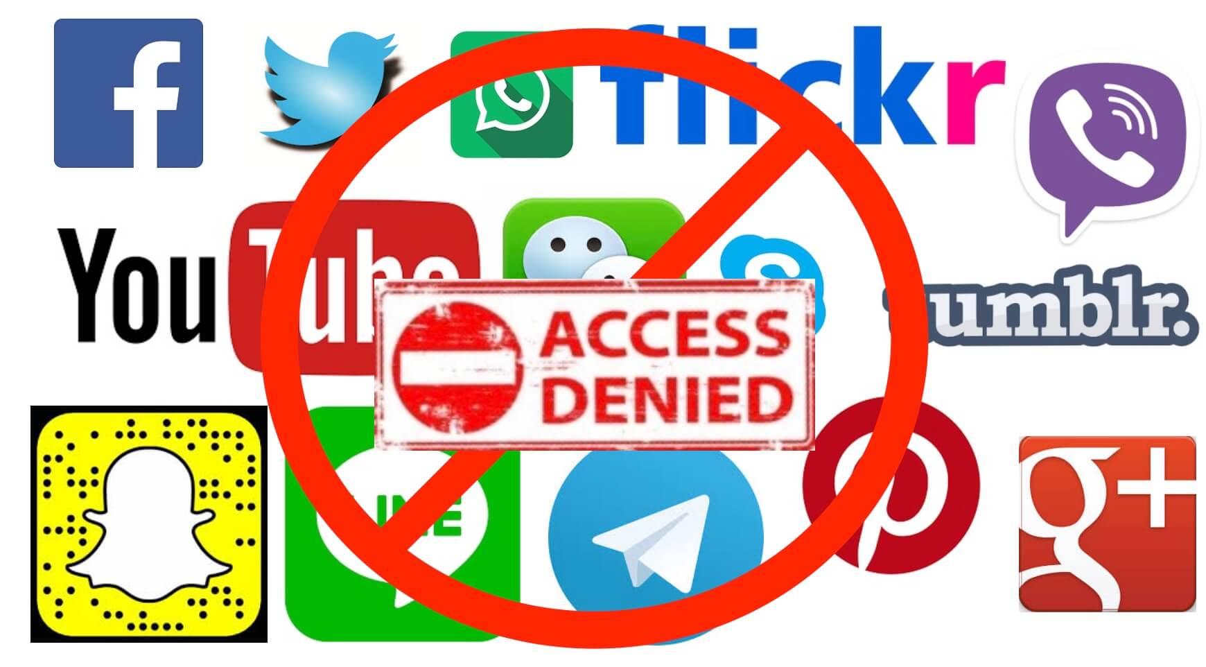 Social media is blocked in Zimbabwe internet shutdown